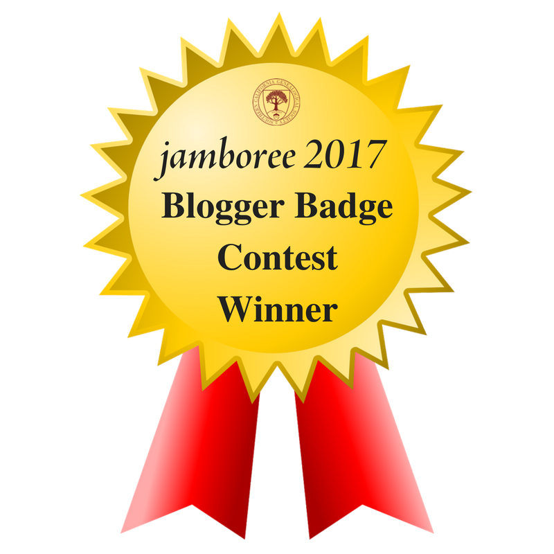 2017 Jamboree Blogger Badge Winner!