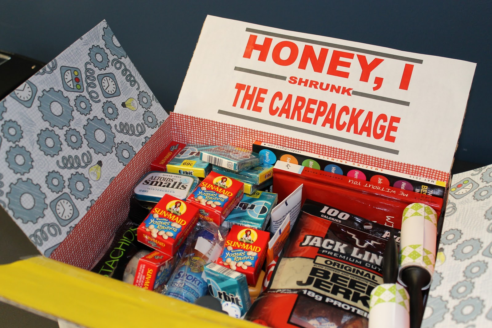 living in the moment honey i shrunk the care package