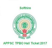 APPSC TPBO Hall Ticket