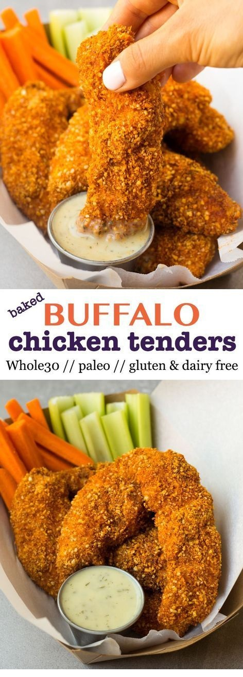 Whole30 Buffalo Chicken Tenders