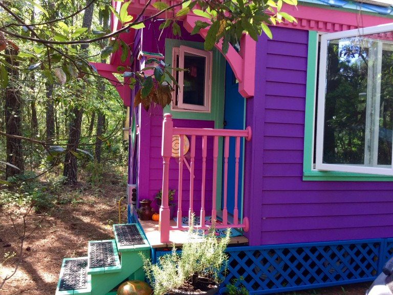 Pink And Purple Ravenlore Tiny House