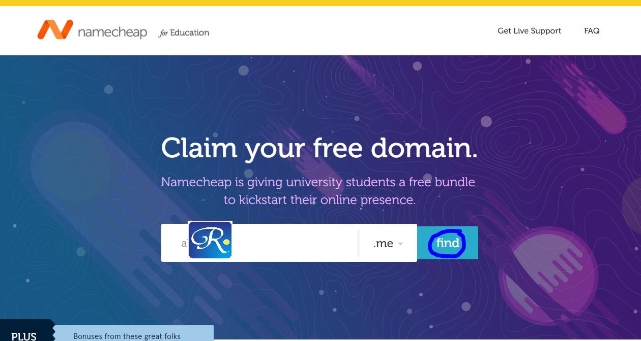 Cara Mendapat Domain TLD (me) Gratis
