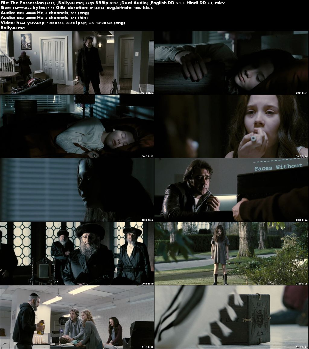 The Possession 2012 BluRay Hindi Dubbed Dual Audio ORG 720p Download