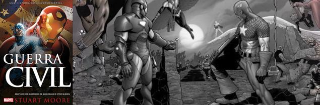 Sorteio do Livro Marvel Guerra Civil