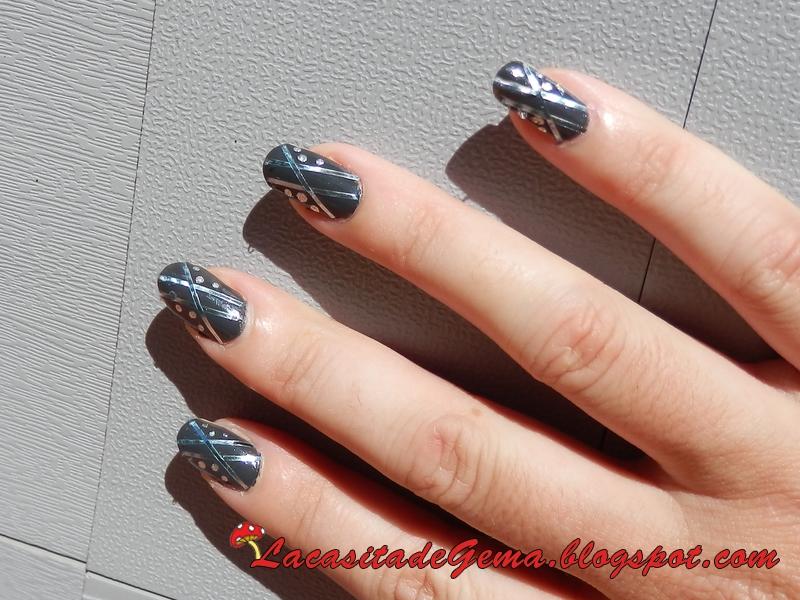 La Casita De Gema Tutorial Uñas Decoradas Nail Art Nº47 Uñas