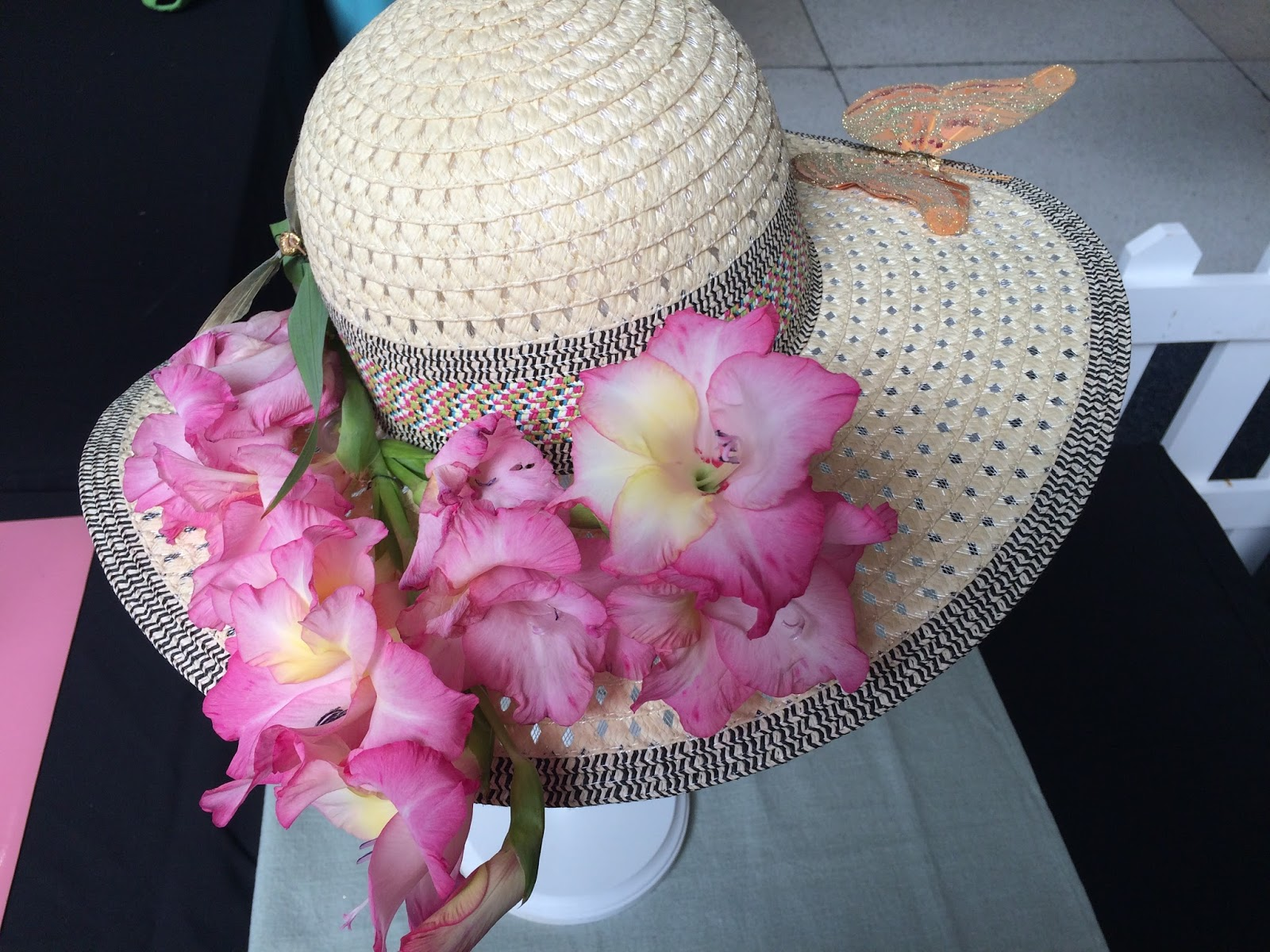 Rosemarys Sampler Flower Show Garden Hats