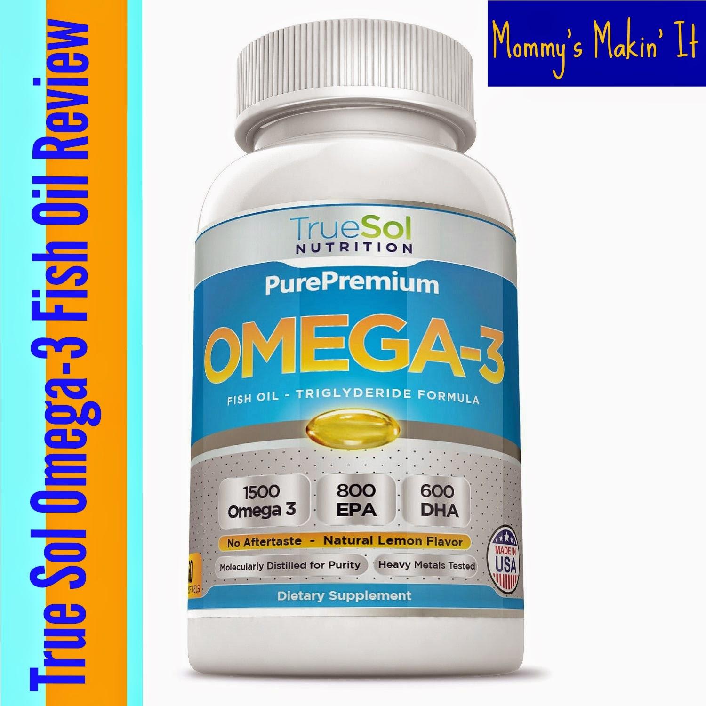 True Sol Omega - 3 Fish Oil Giveaway - Jays Sweet N Sour Life