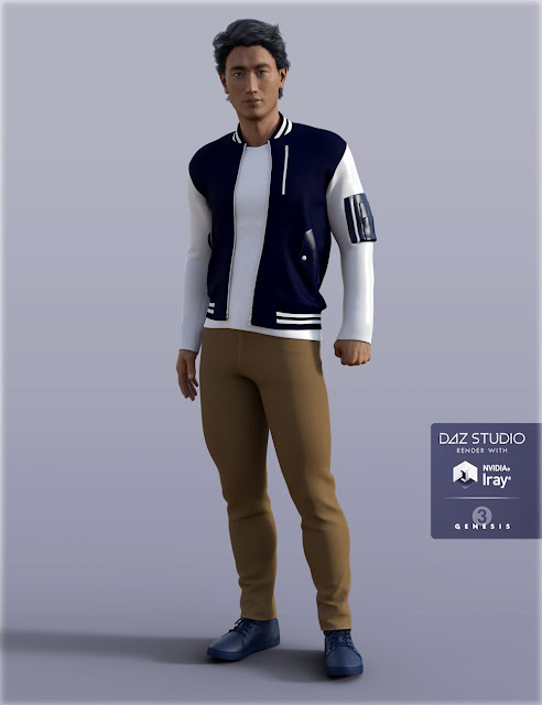 H/C Casual B for Genesis 3 Male