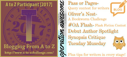 #AtoZchallenge 2017 Operation Awesome T is for Think Like a Book Marketer #AtoZChallenge