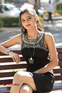Actress Poojitha Pallavi Naidu Stills in Black Short Dress at Inkenti Nuvve Cheppu Movie Platinum Disc Function  0173.JPG