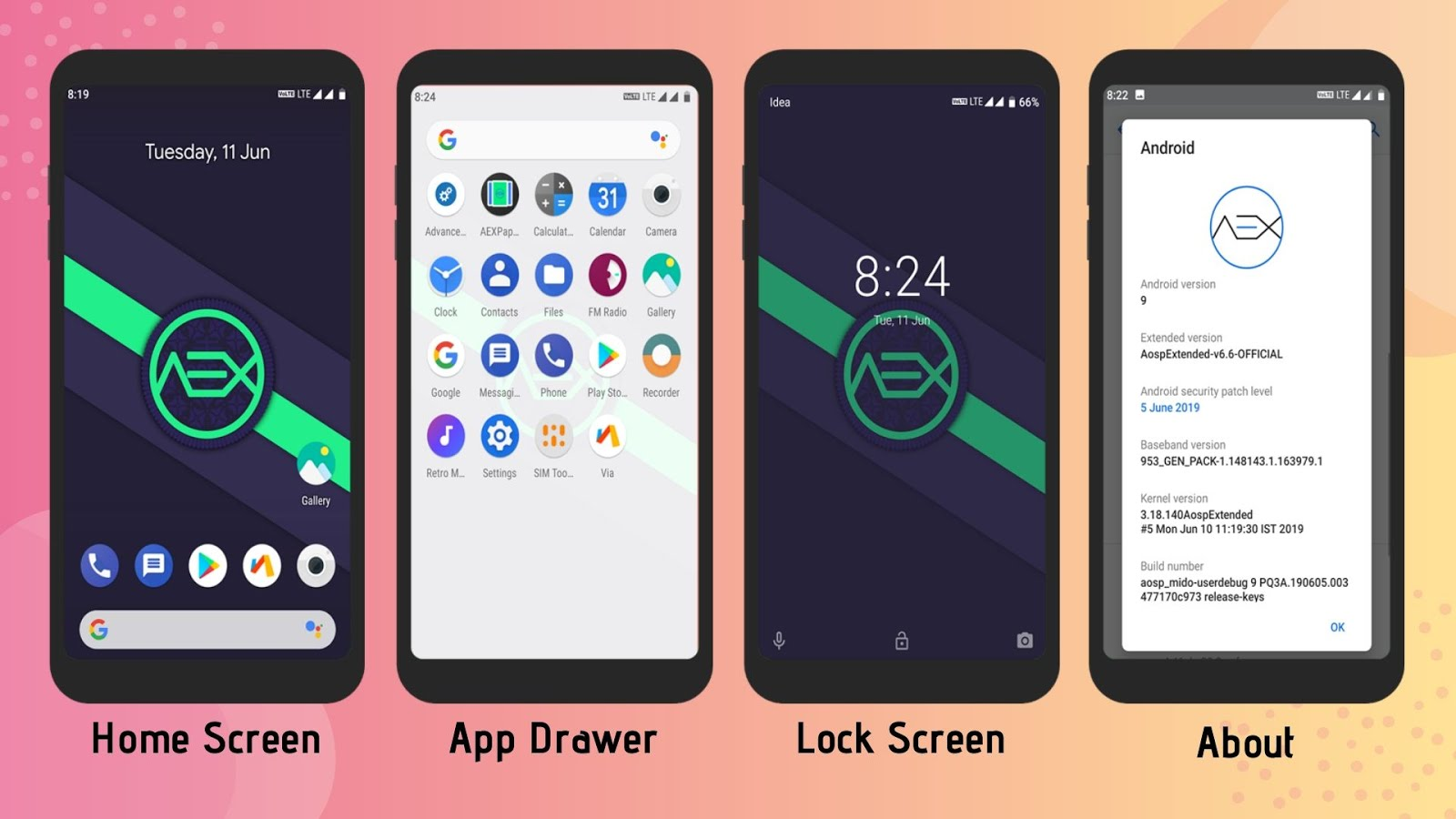 AOSP Extended Rom for Redmi Note 4 (mido)
