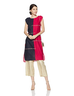 this image relates  Designer Cotton   Kurtas  For Women Online In India