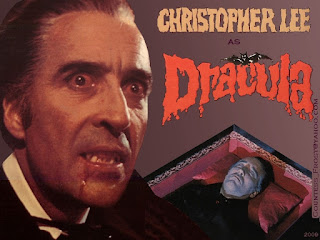 Affiche de Christopher Lee dans Dracula