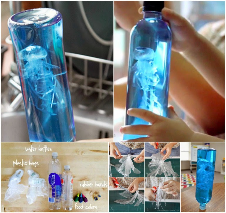 Water Bottle Cakes