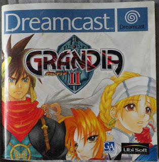 Grandia II - Manual portada