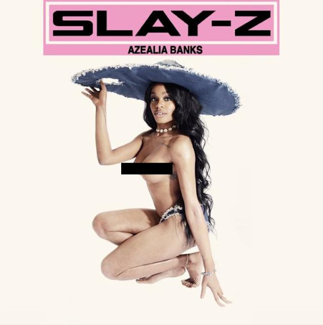 Azealia Banks aparece desnuda en la portada de su nuevo mixtape.