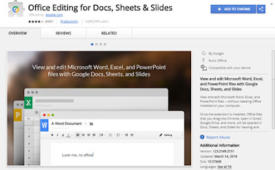 Google docs browser extension
