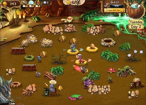 لعبة تربية التنانين الصغيرة Dragon Keeper 2