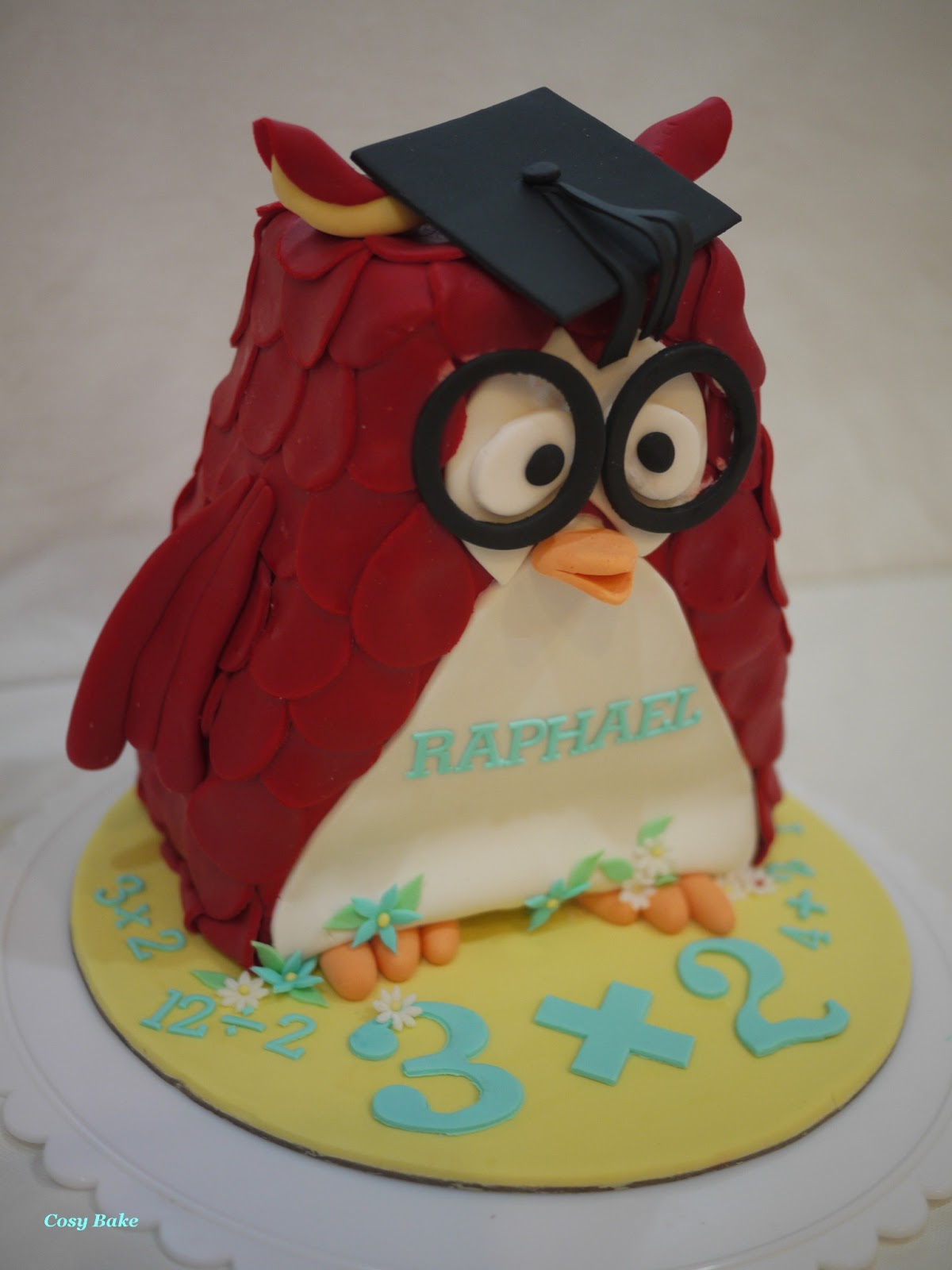 Red Owl For Raphael S 6th Birthday