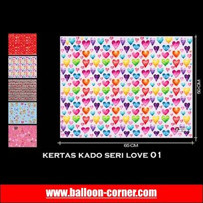 Kertas Kado Seri LOVE (01)