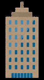 いろいろなビルのイラスト8