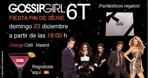 El próximo domingo 23 de diciembre es el día más Gossip en Cosmopolitan  Televisión con la emisión en el canal de la última temporada de la serie al  completo ... 7183af58c466