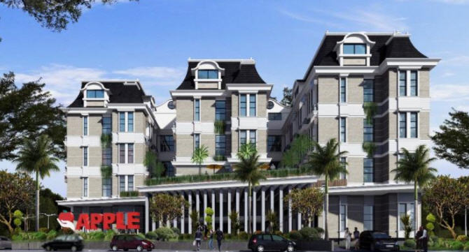 Apartemen Lowrise Apple Residence