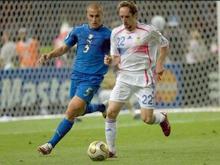 Italia vs Francia en partido amistoso