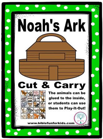 Bible Fun For Kids Noah Preschool Projects