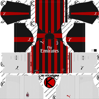AC Milan 2017/2018 - Dream League Soccer