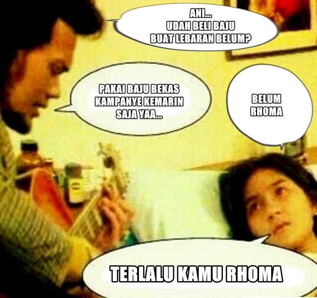 24 Meme Lucu RhomaAni Drama Lebay Bikin Ketawa Ngakak