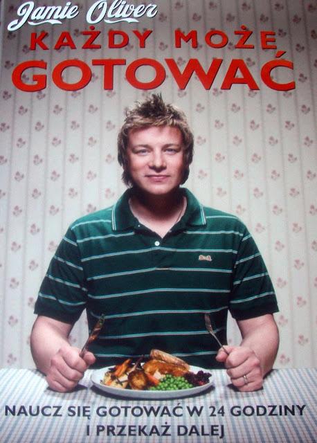 """jamiee Jamie Oliver """"Każdy może gotować"""""""