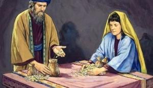 geestelijke momenten ananias en safira