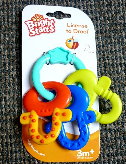 bright starts teething keys
