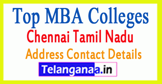 Top MBA Colleges in Chennai Tamil Nadu State