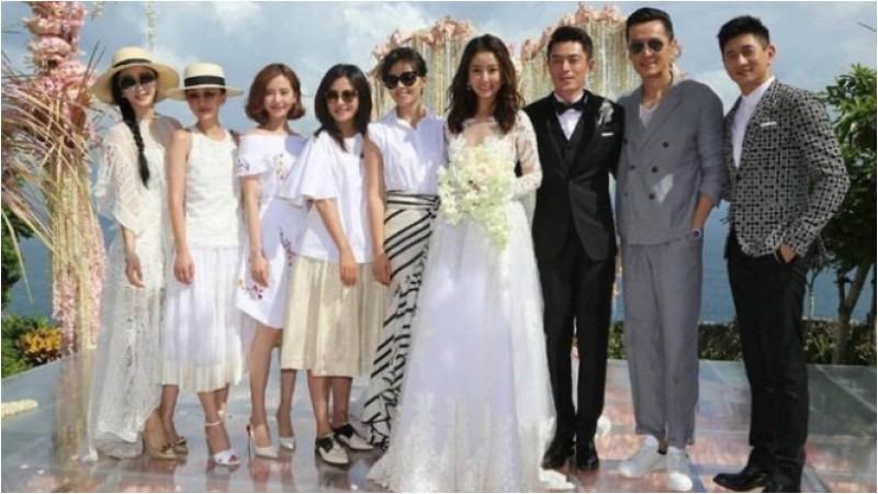 Pernikahan Ruby Lin dan Wallace Huo