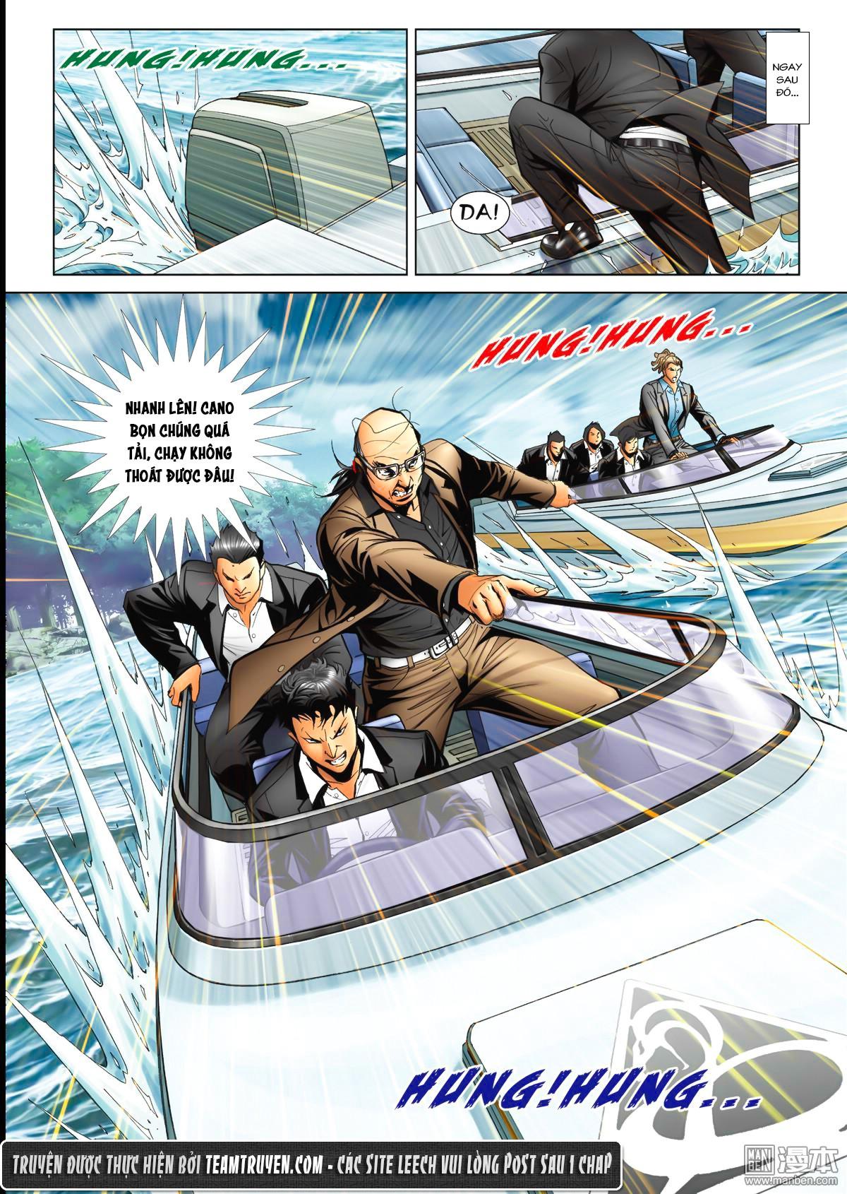 Người Trong Giang Hồ NetTruyen chap 1520 - Trang 25