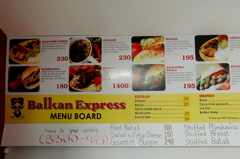 Balkan Express Food Truck Nashville