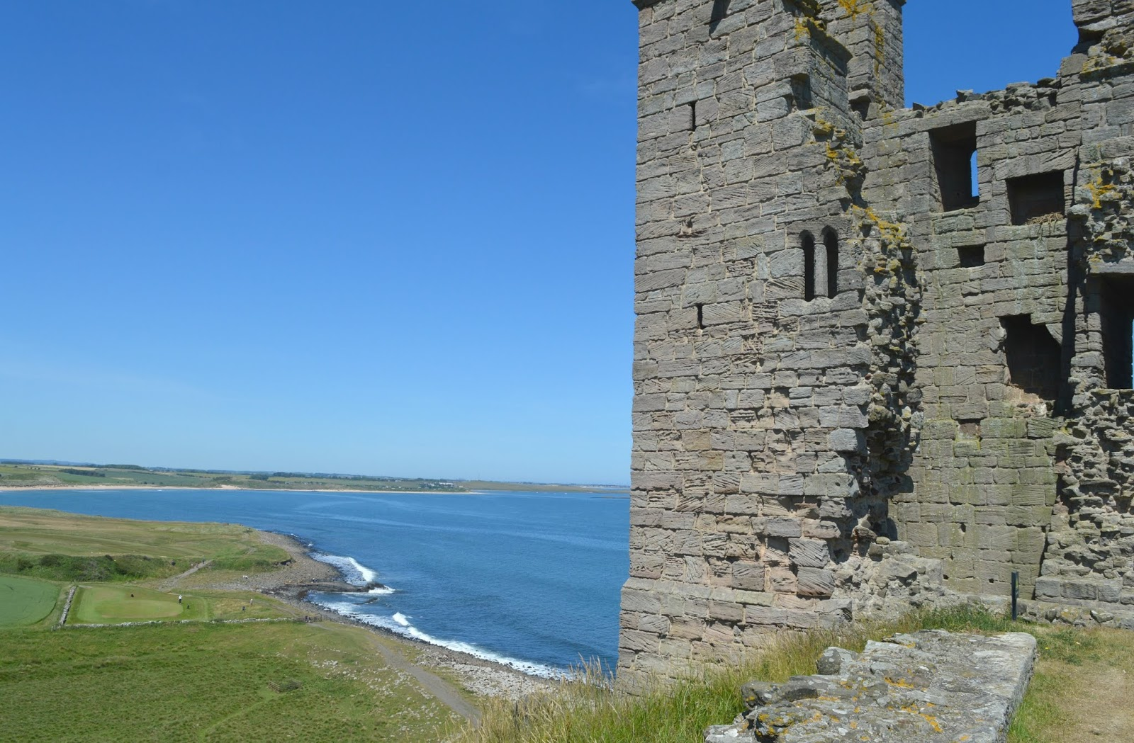 Walking from Craster to Dunstanburgh Castle