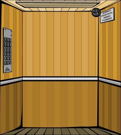 Como agir no elevador em pane