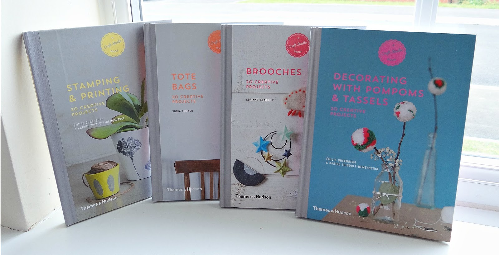 Craft Studio Books, make your own, DIY