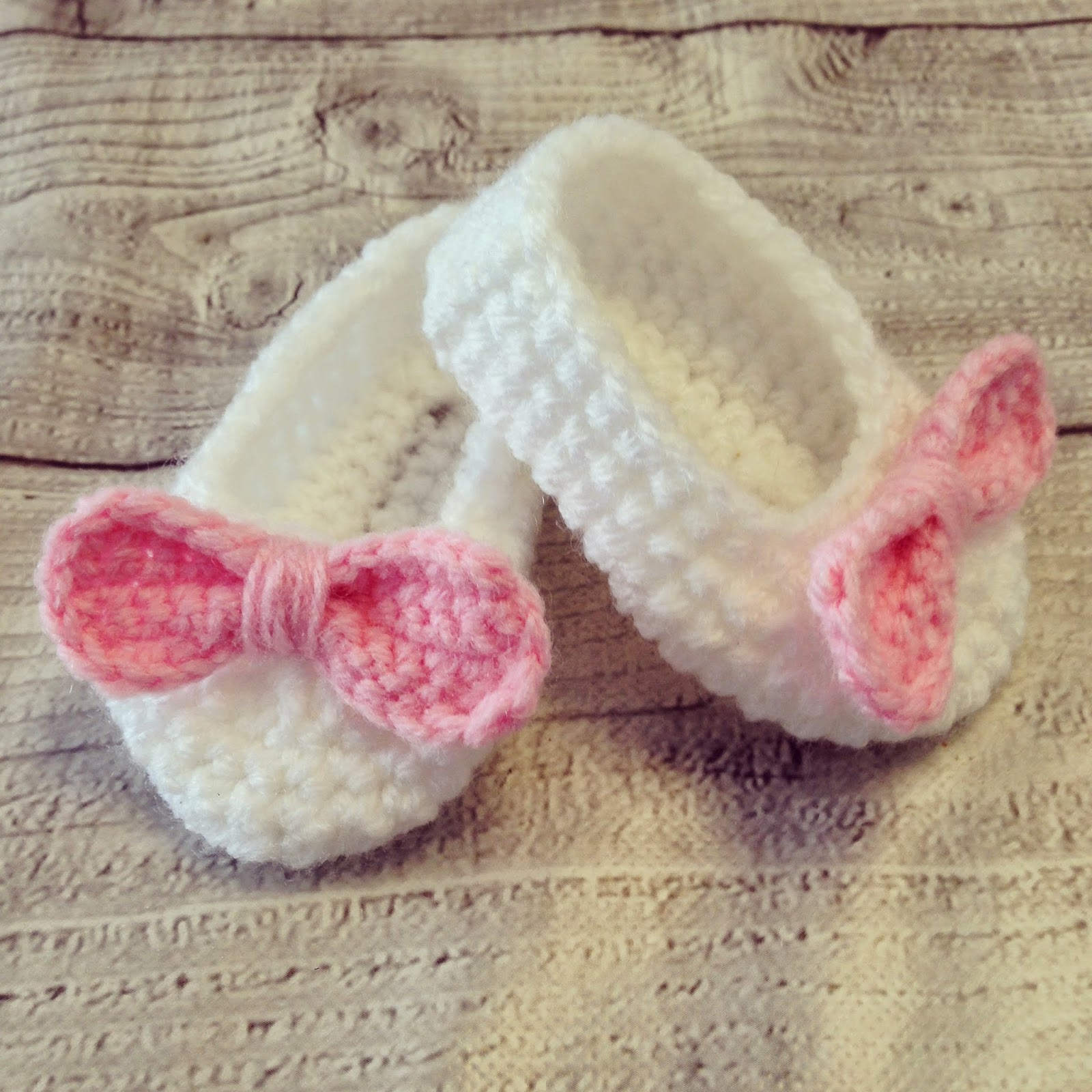 Angels Handmade Baby Booties Haakpatroon