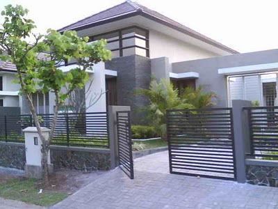 In Malang East Java Indonesia Several Small Houses To Adapt To Minimize The Tropical House Architectural Design It Uses Some Of Gardening