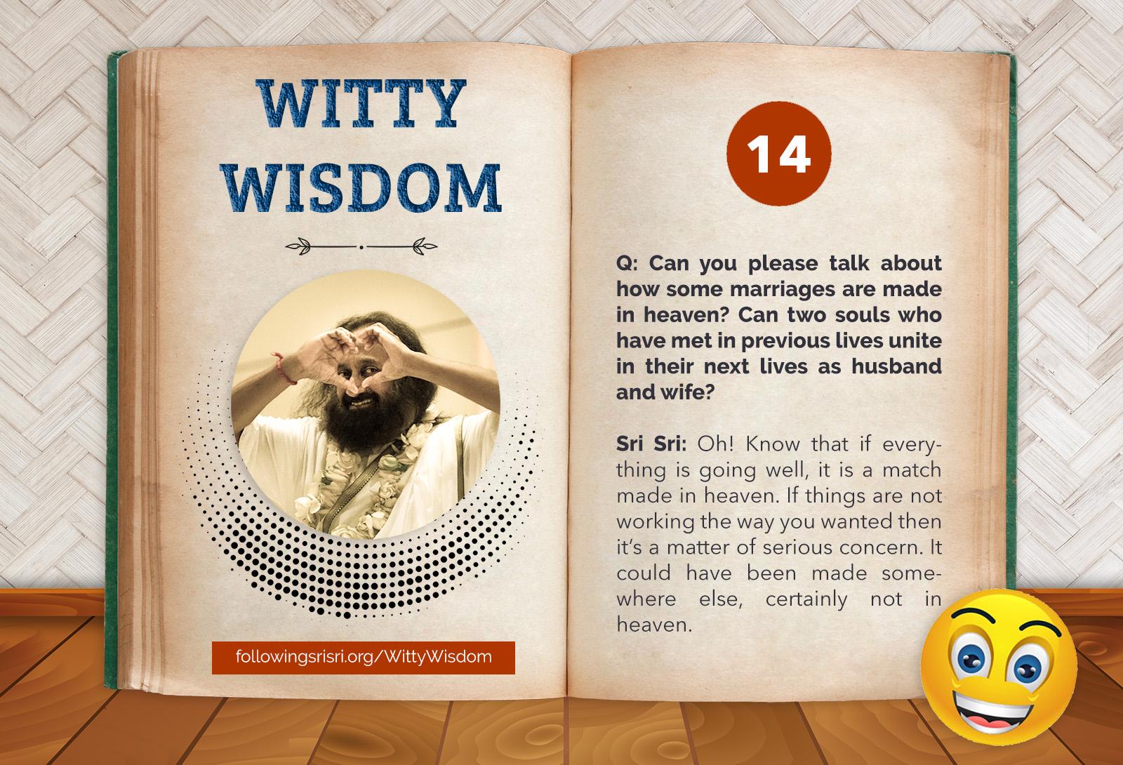 Match Making | Witty Wisdom