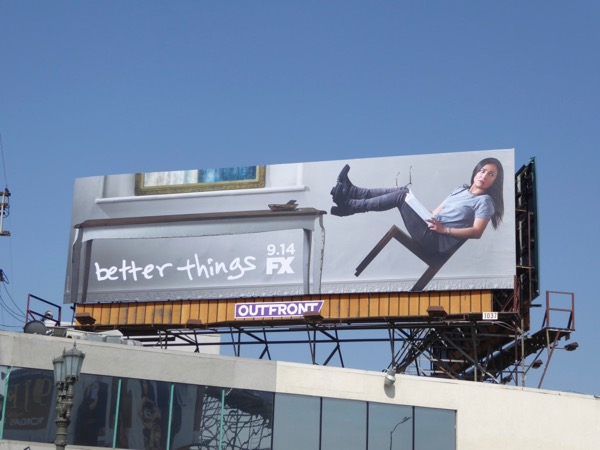 Better Things season 2 FX billboard