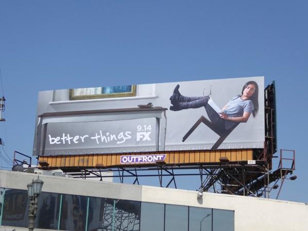 Better Things season 2 FX billboard