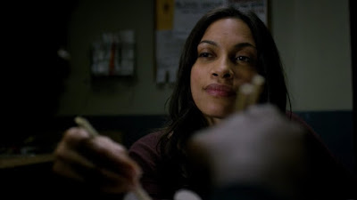 Rosario Dawson screenshot images Claire Temple Luke Cage