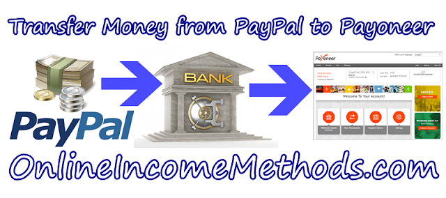 How to Transfer Money / Withdraw Funds from Paypal to Payoneer Account?