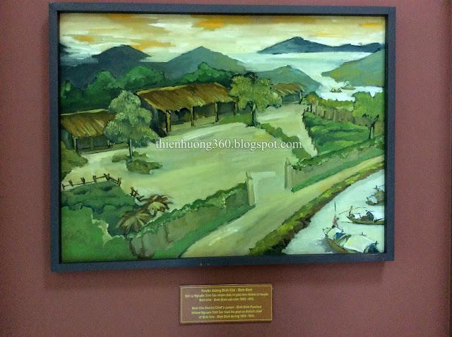 Huyện đường 1909-1910 nơi cụ Nguyễn Sinh Sắc nhậm chức tri phủ lĩnh nhiệm tri huyện Bình Khê