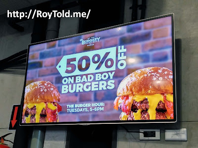 the burgery the bad boys of burger 50 percent off tuesday